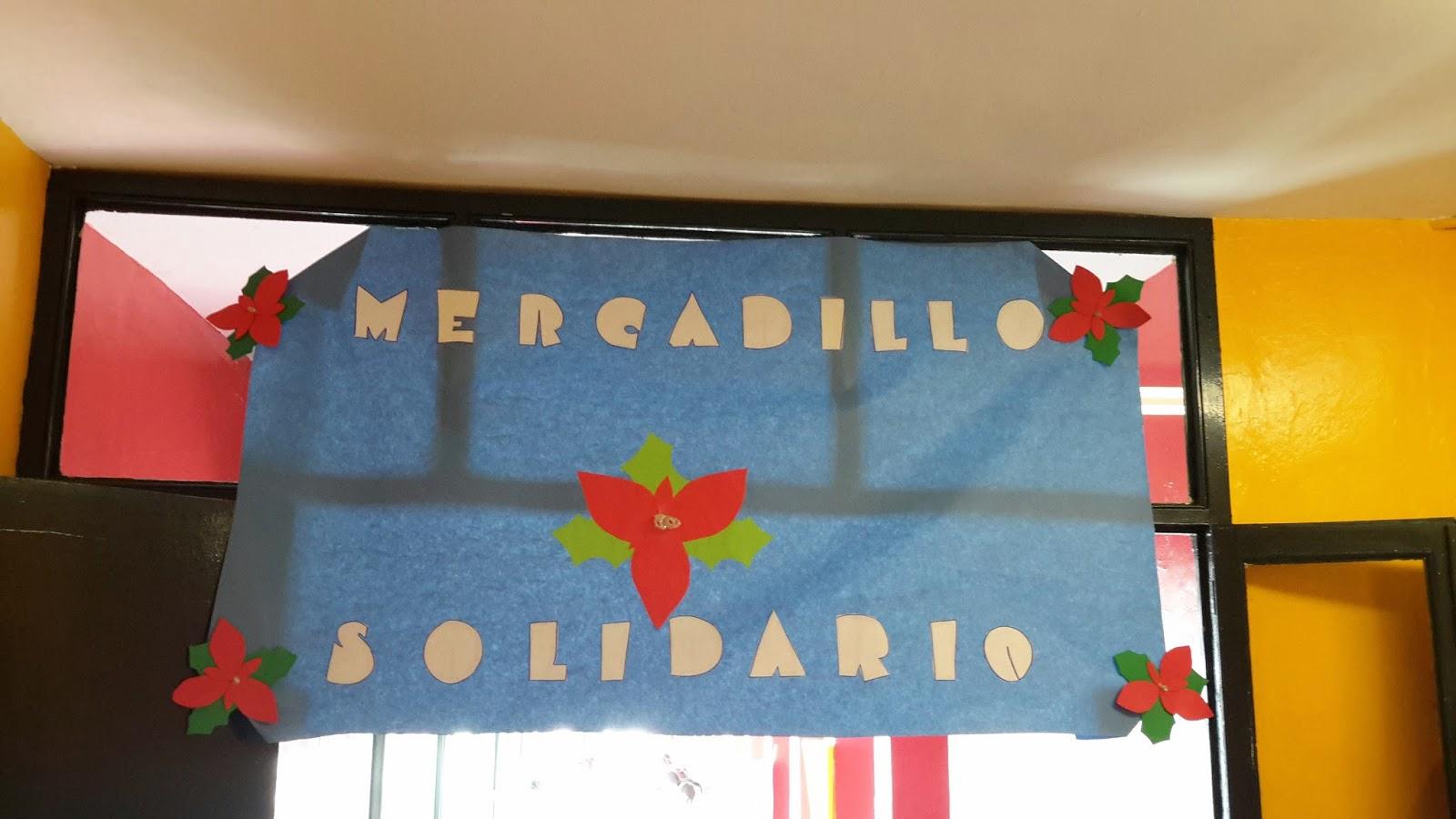 MERCADILLO SOLIDARIO PARA CÁRITAS