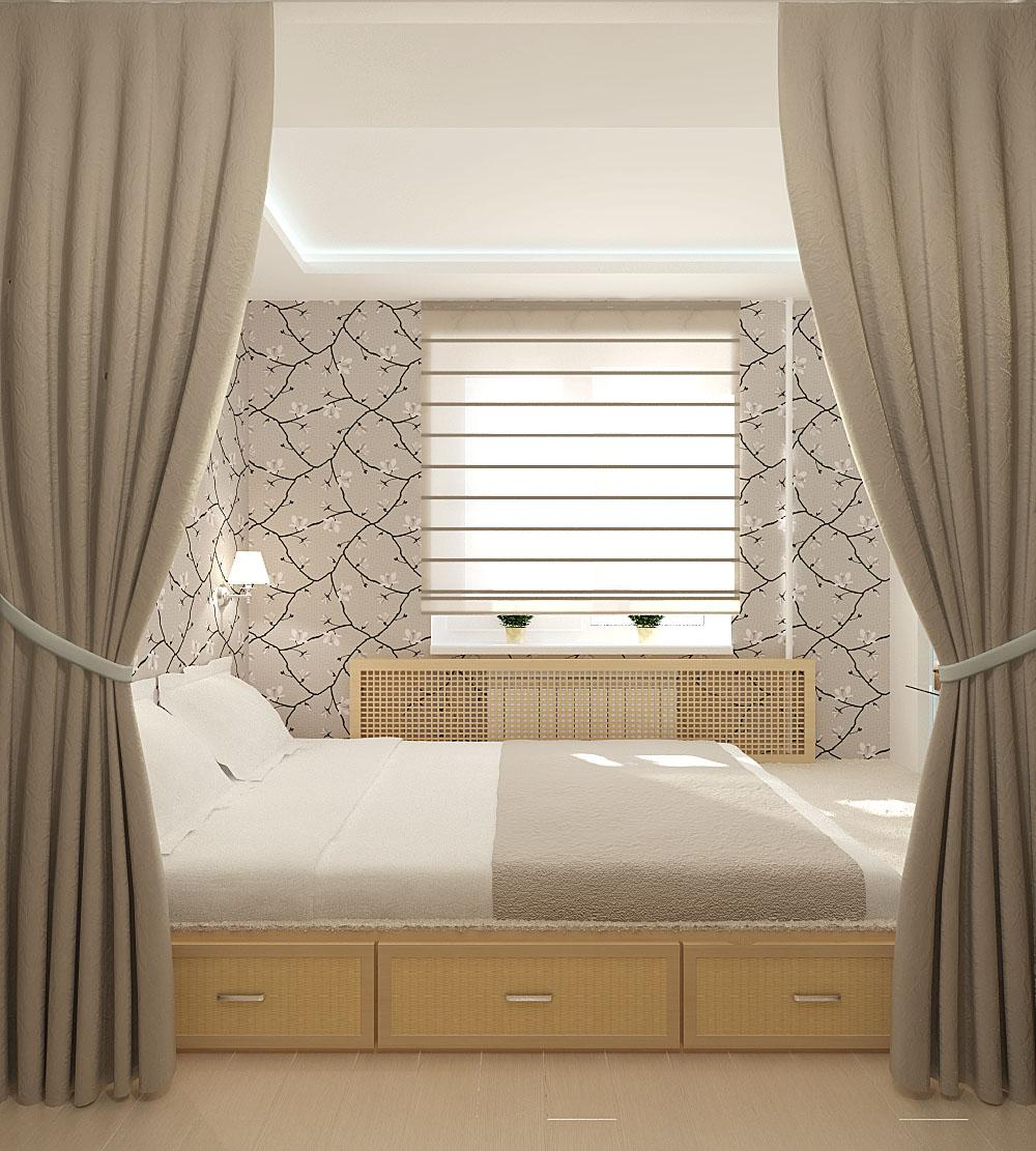 Дизайн спальни кровать с