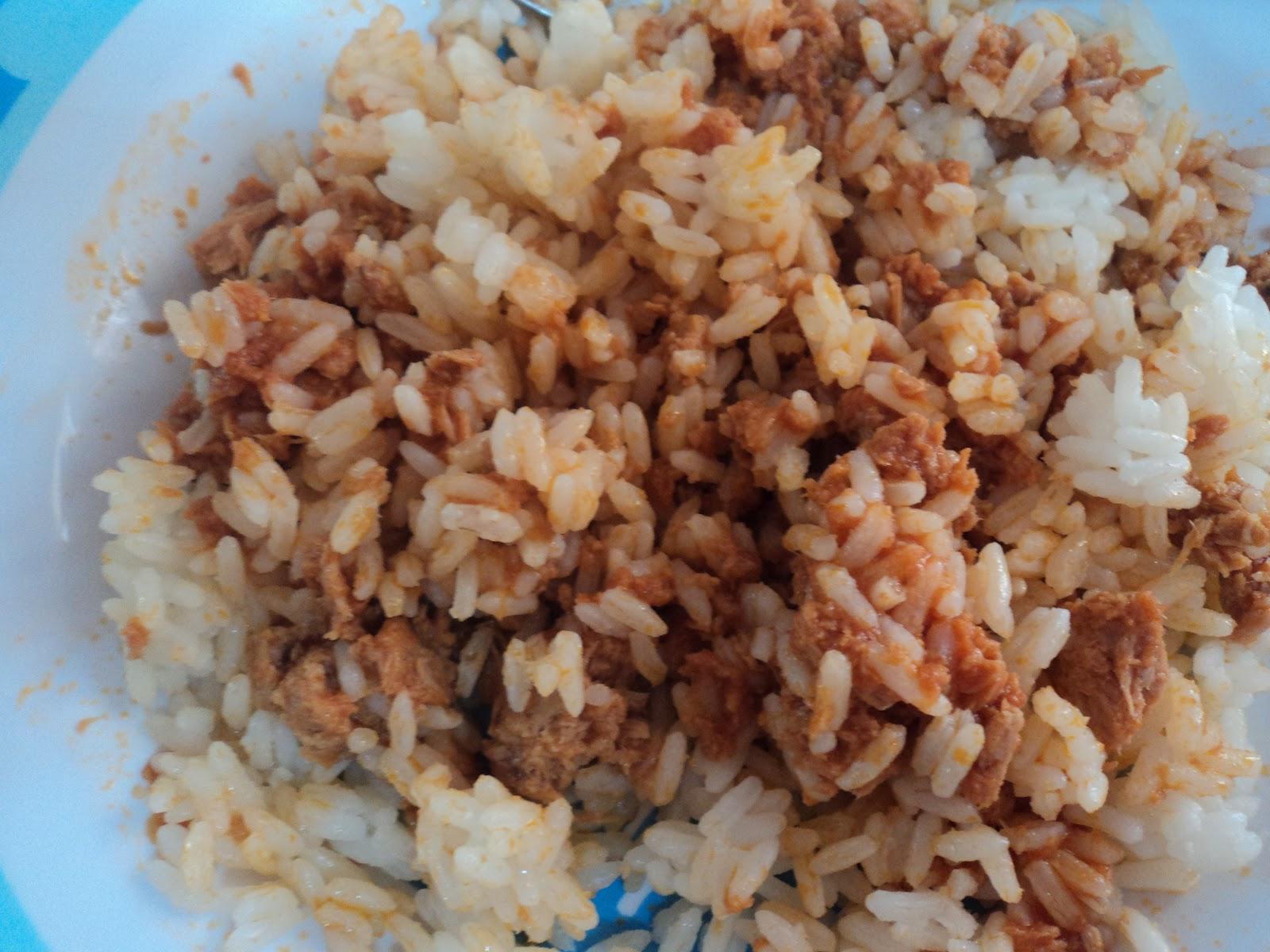La cocina de nurivan arroz blanco con atun y tomate - Comidas con arroz blanco ...
