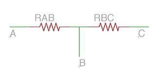 potentiomètre A B C