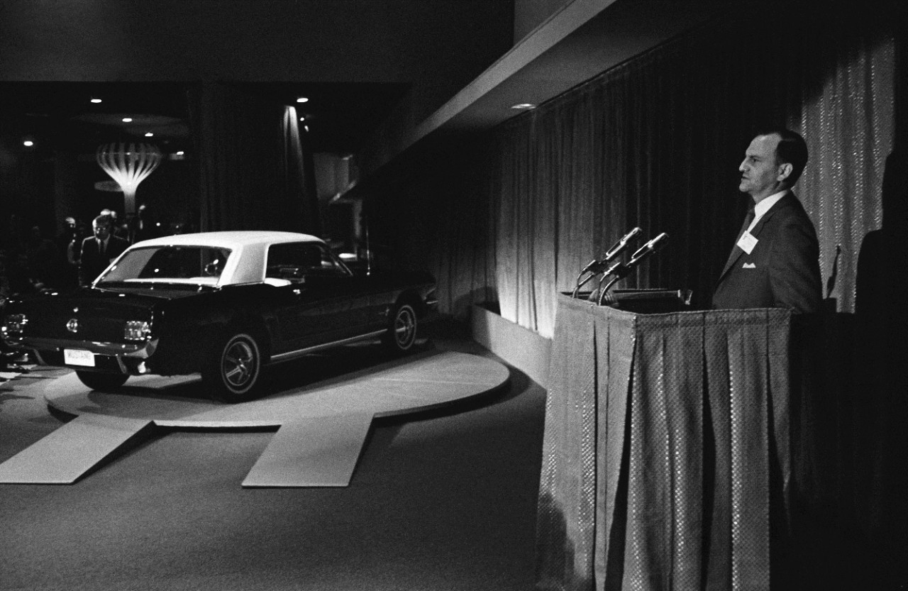 Virginia Classic Mustang Blog Lee Iacocca S Speech Introducing The