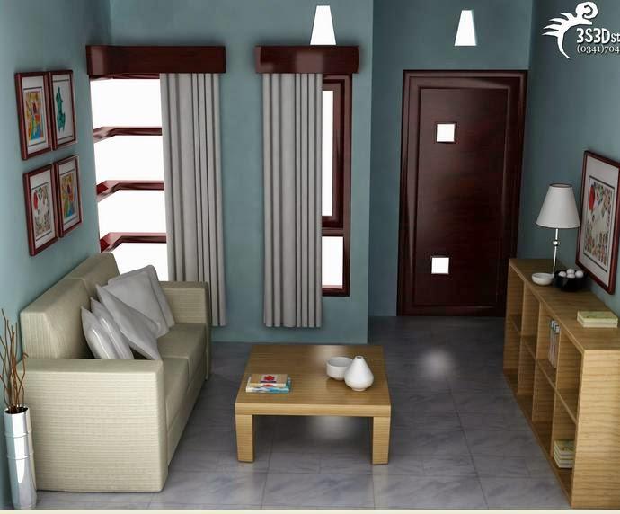 Dekorasi rumah minimalis type 45 bagian interior irulis for Dekorasi rumah minimalis