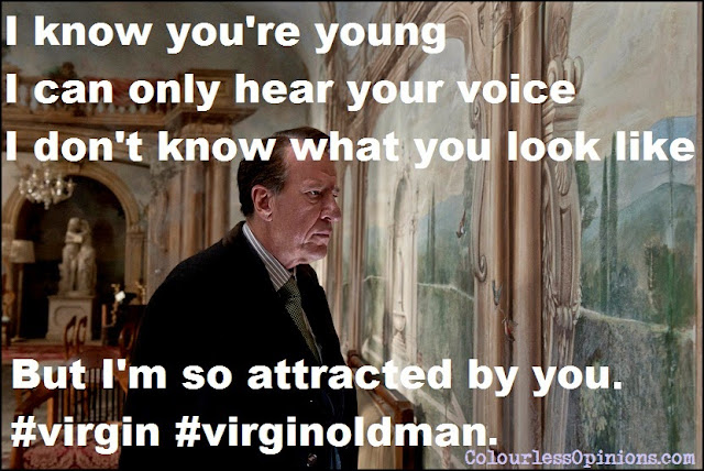 Best Offer geoffrey rush virgin movie meme