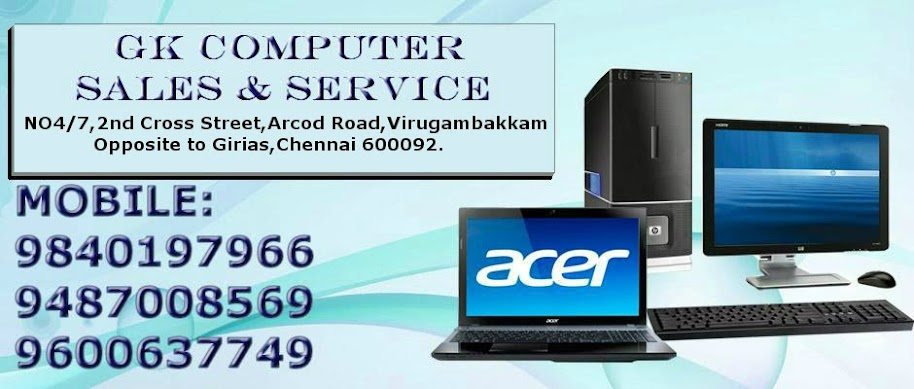 COMPUTER REPAIR AND SERVICES IN CHENNAI,MADURAI,TRICHY,COIMBATORE,SALEM