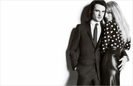 Sienna Miller and Tom Sturridge by Mario Testino for Burberry