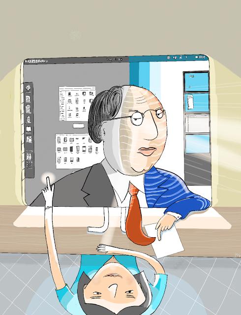 Ilustração dedicada ao editorial inspirada em uma ideia de Manaíra Abreu.