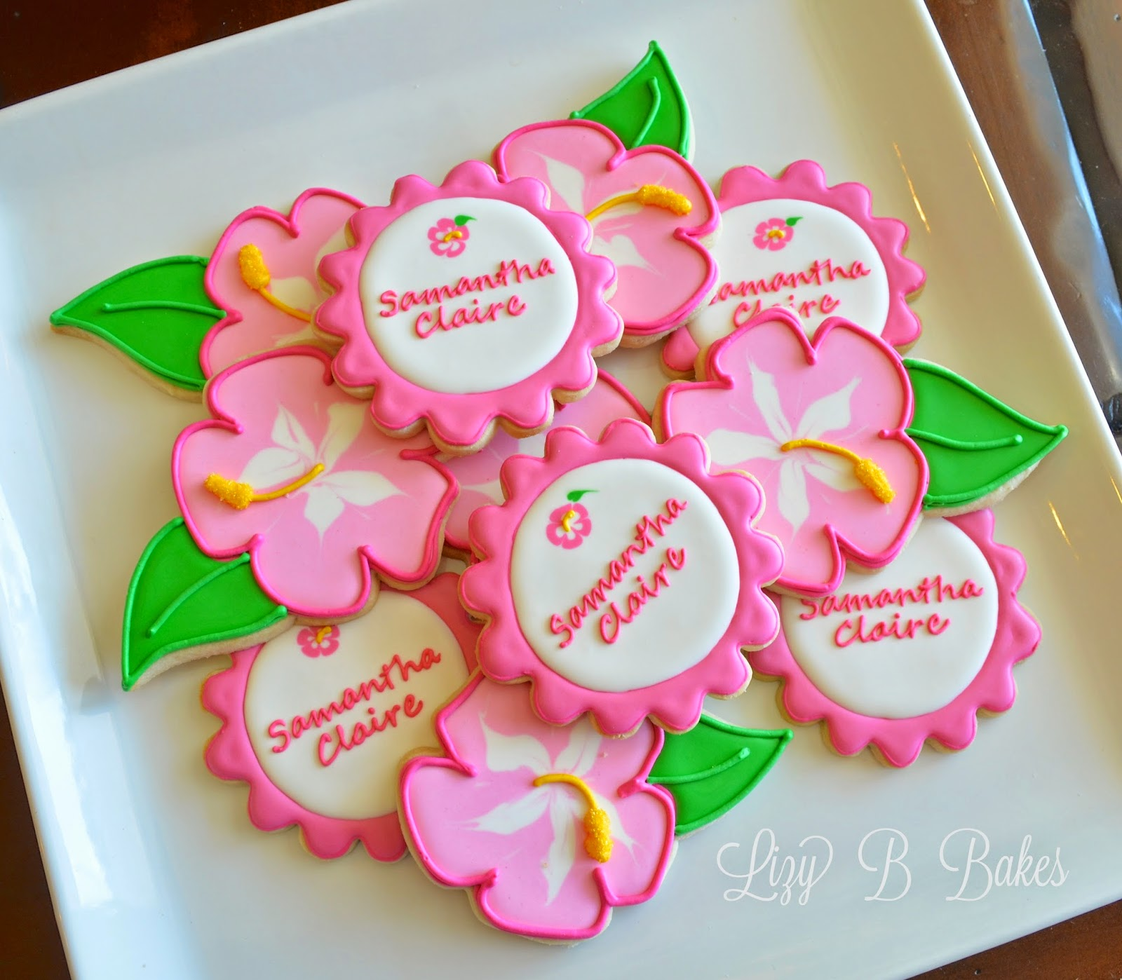 Lizy b hibiscus cookie tutorial hibiscus cookie tutorial izmirmasajfo