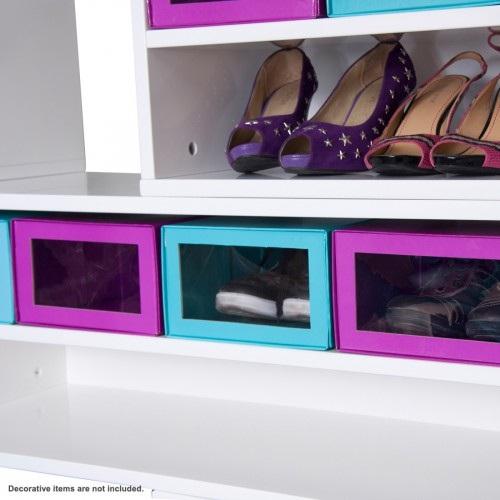 Decora y disena mueble para calzado moderno for Muebles para colocar zapatos