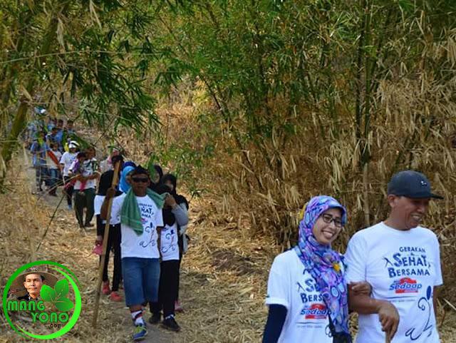 Acara yang baru pertama kali digelar tersebut menurut Mang Alam Rantjatan, selain untuk mengedukasi masyarakat untuk lebih mengetahui kondisi hutan kota