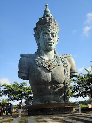 The Statue of Vishnu at Garuda Wisnu Kencana Bali