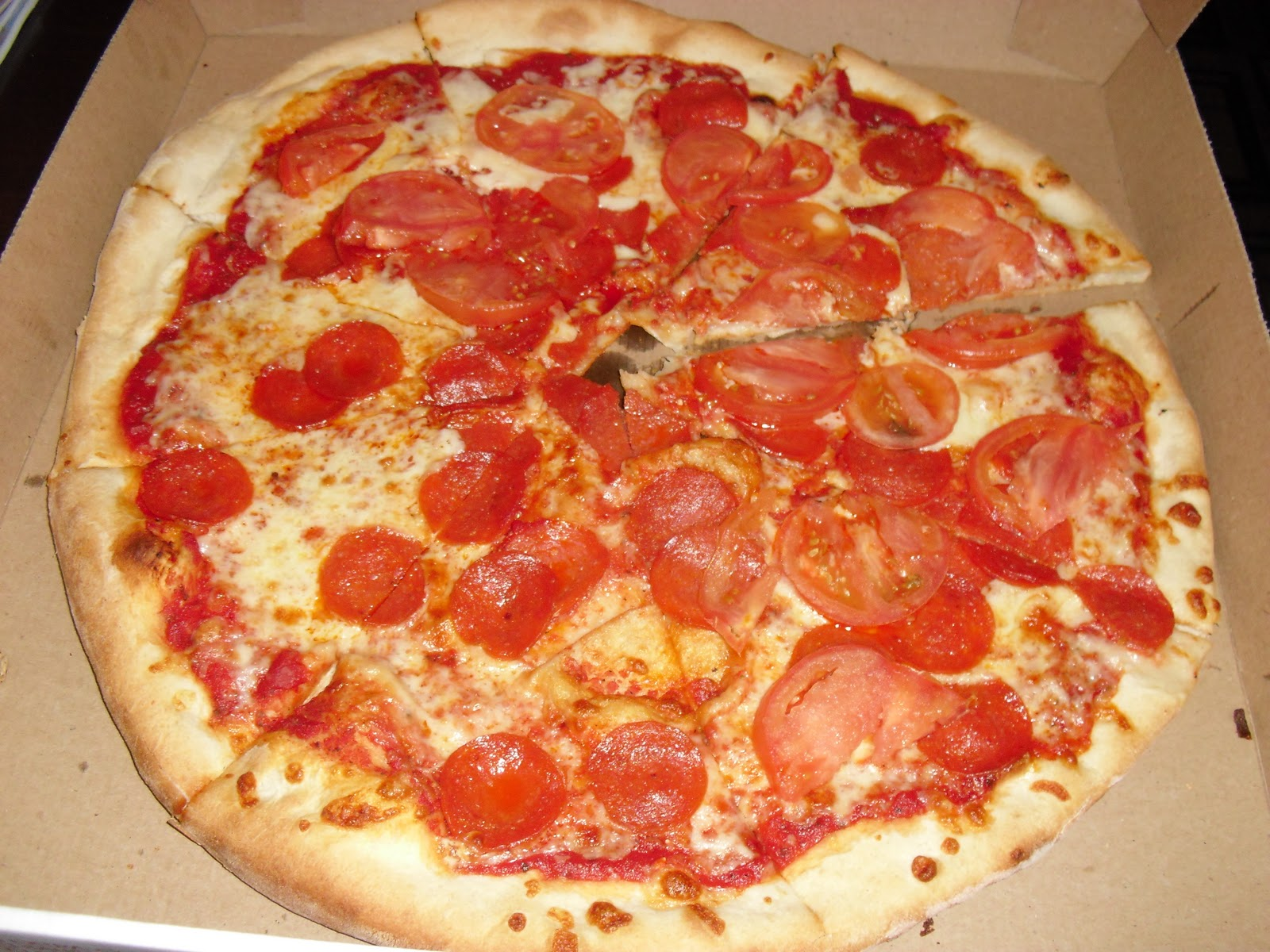 I ate new york city famous original ray 39 s pizza for Pizza original