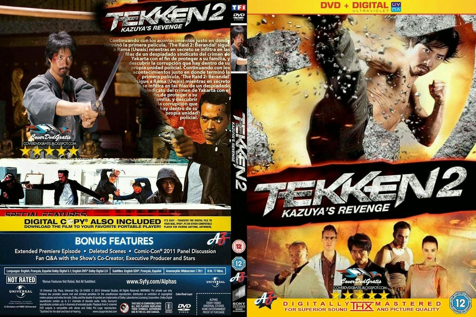 Download Tekken 2 A Vingança De Kazuya DVD-R Tekken 2BRevenge 2BOf 2BKazuya 2B CoveRdvdGratiS