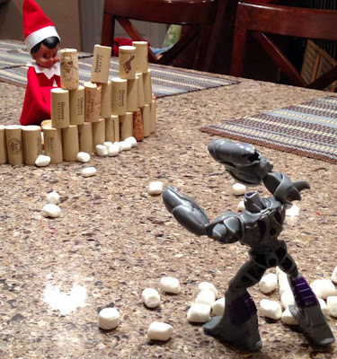 Elf On The Shelf Battle Bot