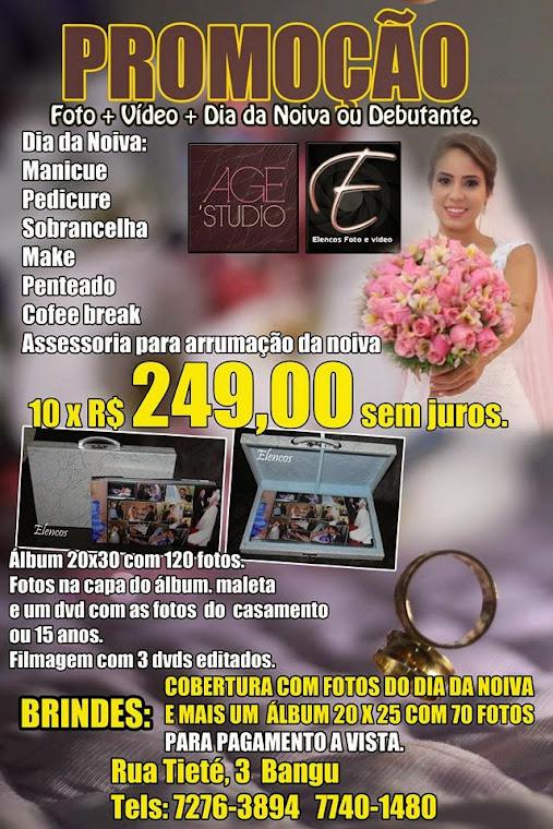 Promoção noivas e debutantes 2013.