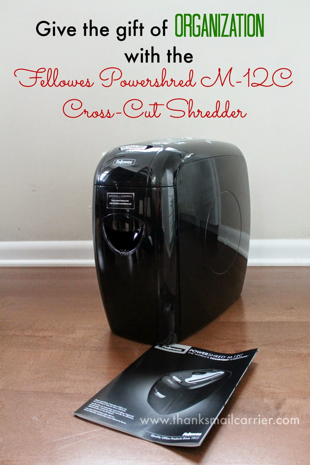 Fellowes paper shredder review