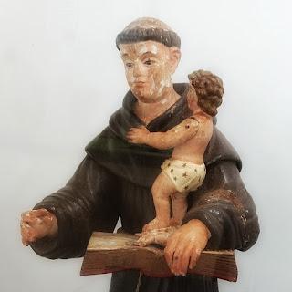 Santo Antônio de Pádua com o Menino Jesus, Museu Missioneiro de São Borja