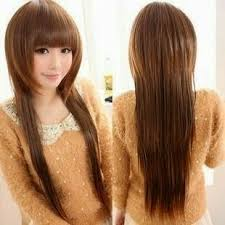 Setelah membahas model rambut layer panjang berponi kini saatnya membahas model  rambut layer panjang lurus. Langsung saja simak gambar dibawah ini. c92e5792fb
