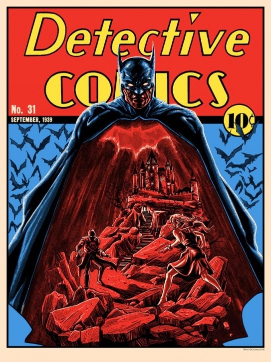 "Batman 75th Anniversary Screen Print Series - Standard Edition ""Detective Comics 31"" by Tim Doyle"
