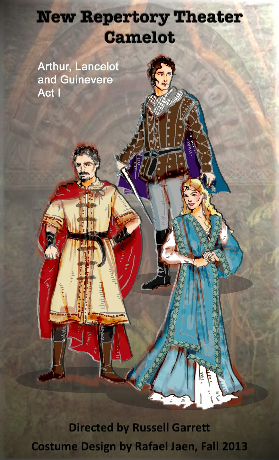 Story And Love Guinevere Arthur King Queen