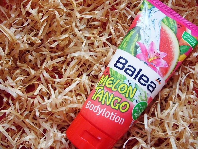 Recenzja: Lotion do ciała Melon Tango, Balea