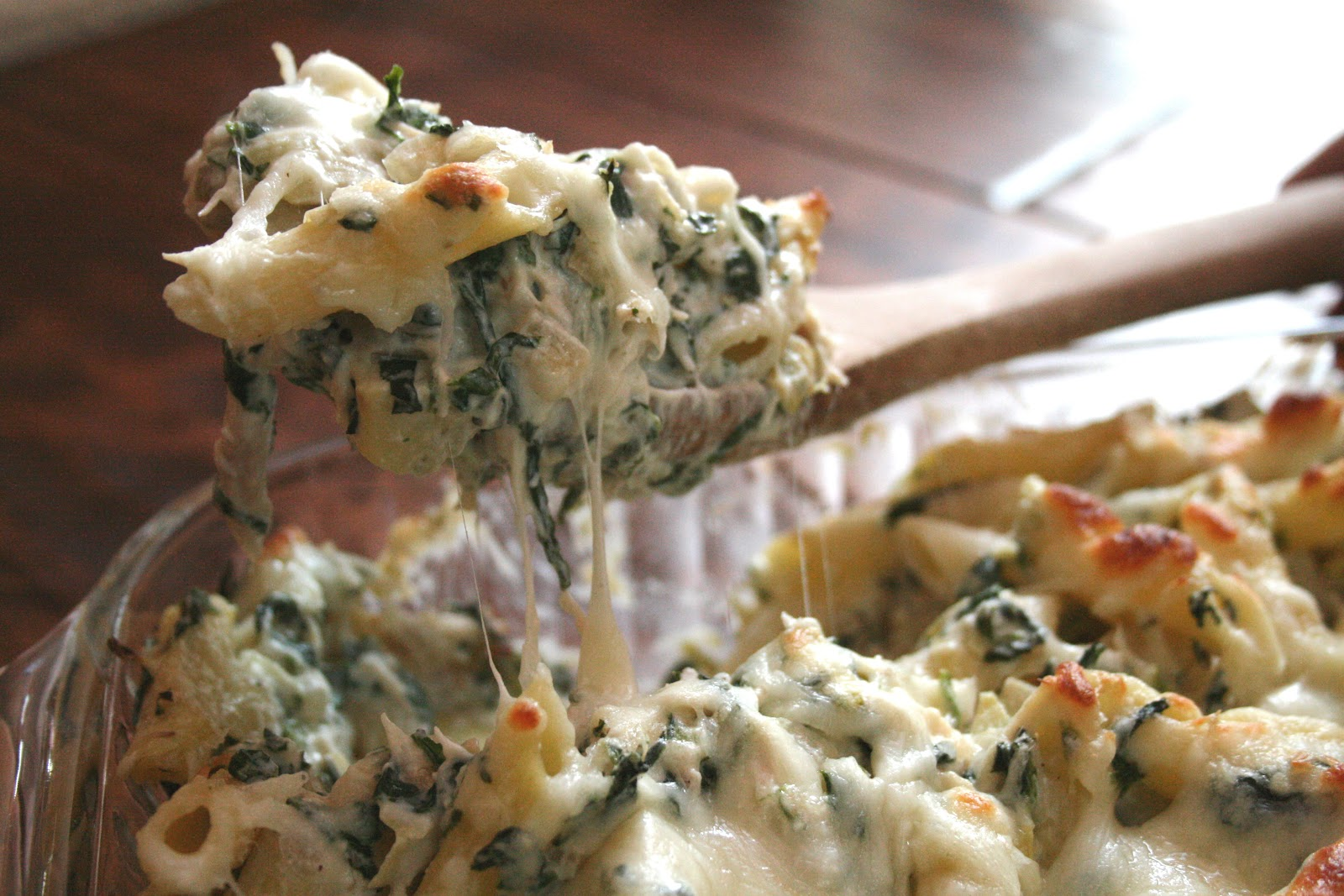 The Nesting Corral: Chicken and Roasted Broccoli Pasta Bake