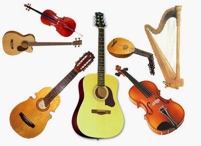 M sica primaria uam tipos de instrumentos y colocaci n en - Tipos de cuerdas ...