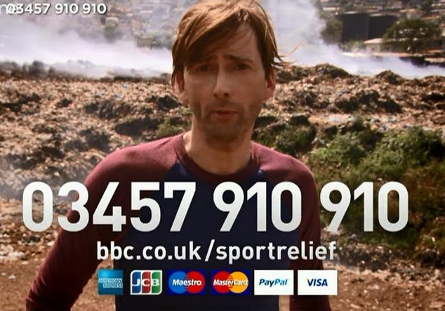 David Tennant on Sport Relief
