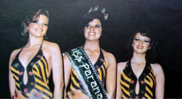 TOP 3 - MISS PARANÁ 1977