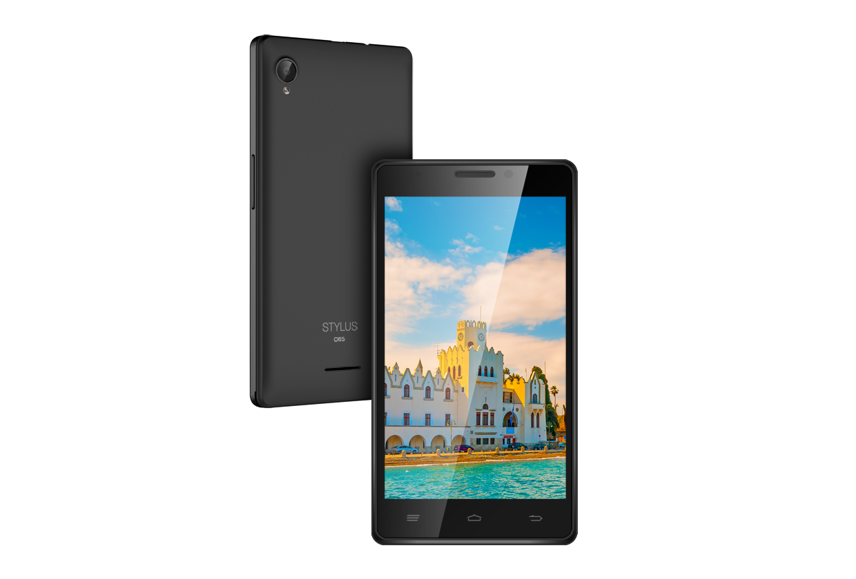 stylus o65 smart android mobile phone full specifications and
