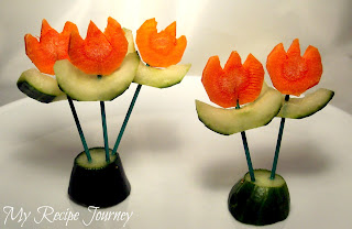 Cucumber Carrot Flowers