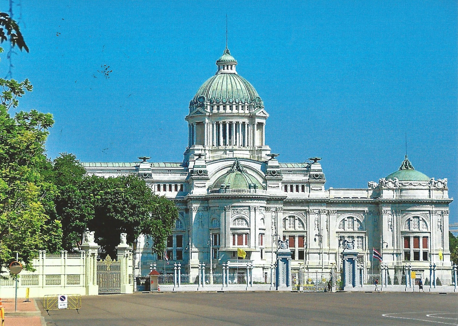 MY POSTCARD-PAGE: THAILAND ~ Bangkok - Ananta Samakhom Throne Hall