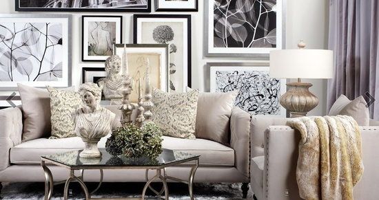 South shore decorating blog themeless thursday but with for Z gallerie living room inspiration