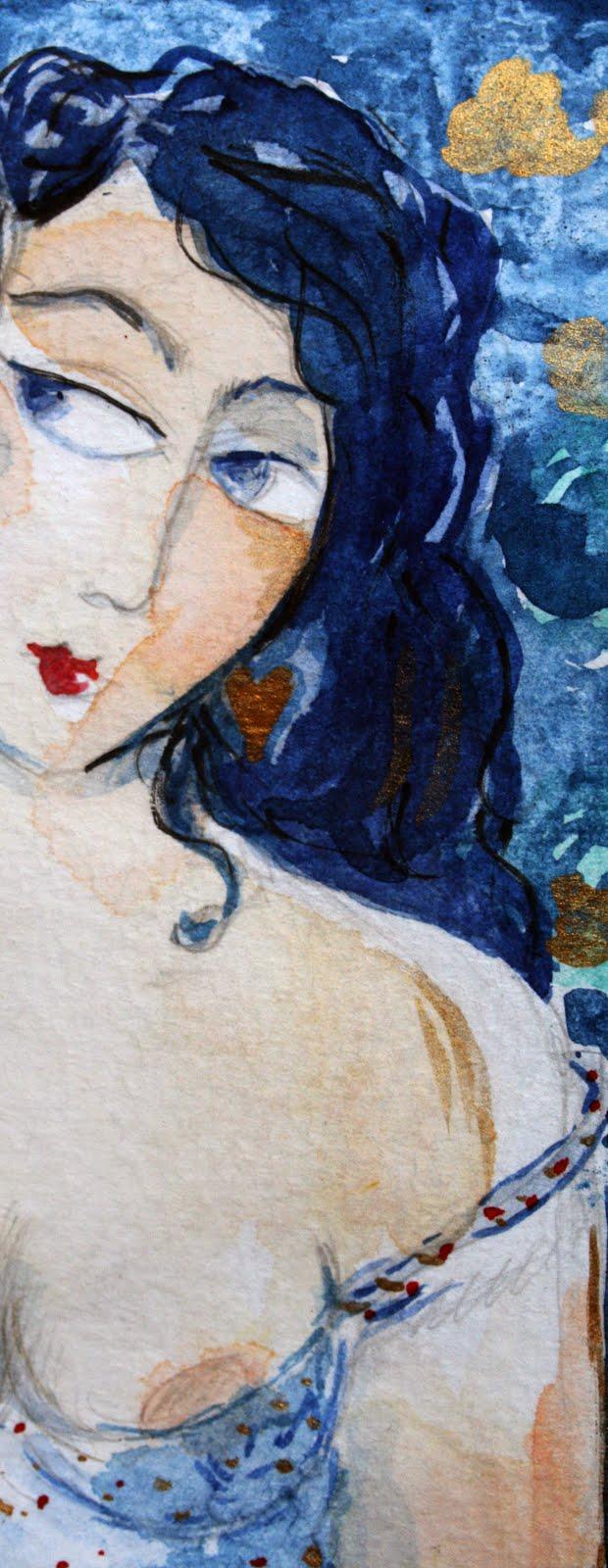 """"""" Portrait amoureux, la nuit obscure """""""