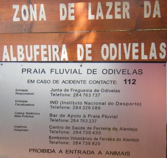 Zona de Lazer e Praia Fluvial de Odivelas
