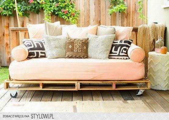 sofa z europalet