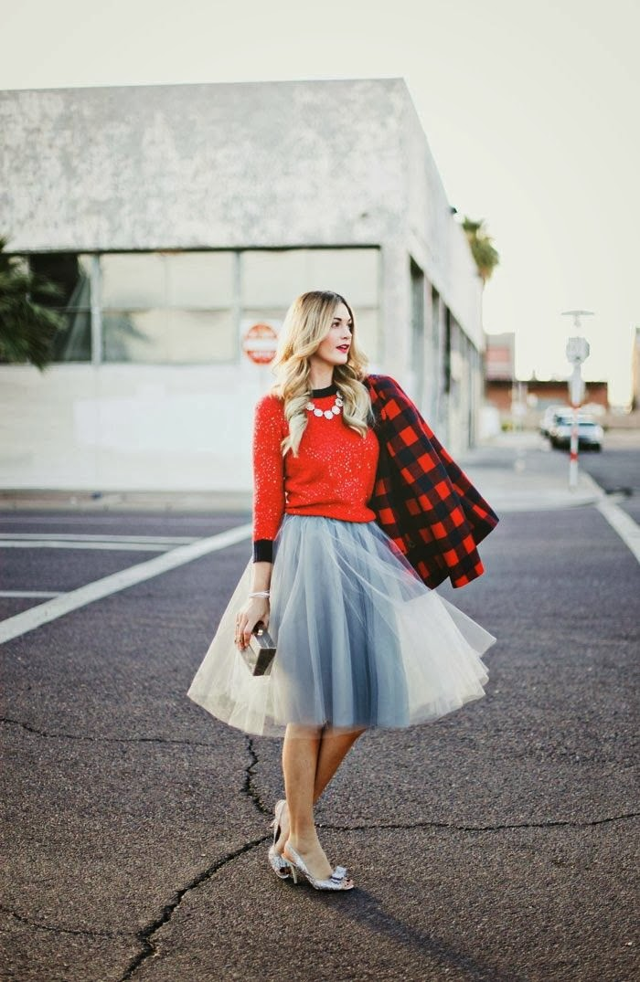 Modest tulle knee and midi length skirt | Mode-sty tznius