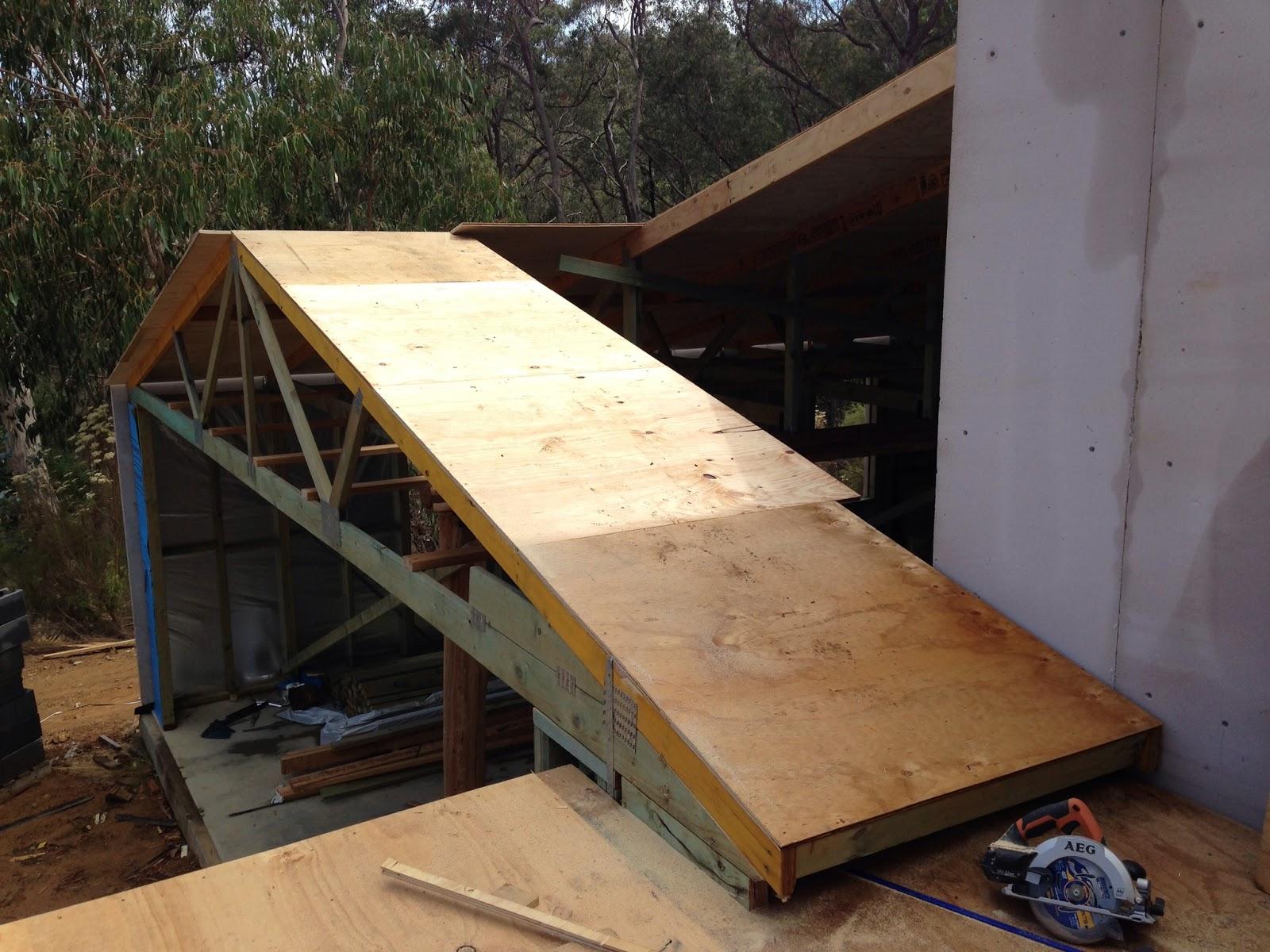 The taj garage finishing roof