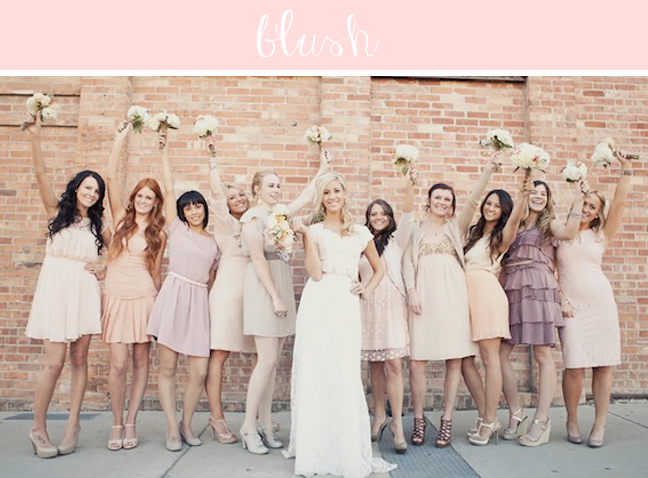 Hot Wedding Colors for 2014