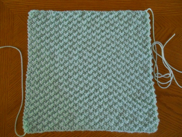 Knitted Squares Pattern : Knitting with Schnapps: Introducing the Megstrong Square and the Body Nuzzler...