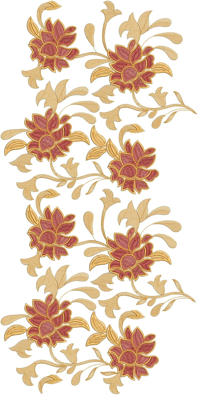 Embdesigntube All Over Jall Embroidery Design Download