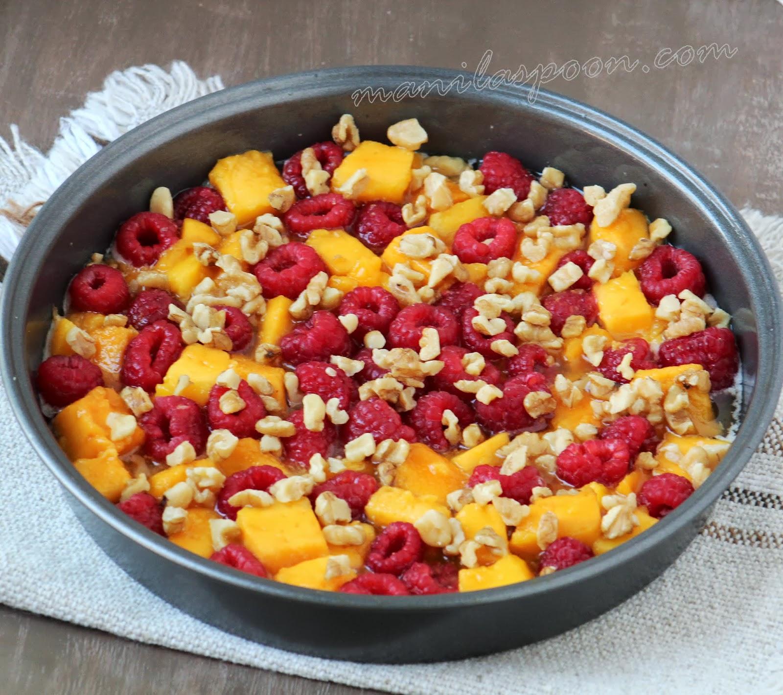 down cake recipe yummly mango upside down cake with macadamia nuts