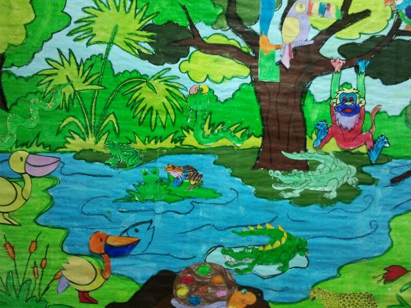 Ceip Pinar de San José Primero: Moli en la selva y en la sabana