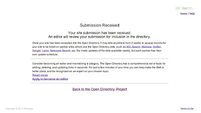 How To Submit Blog To Dmoz Open Directory