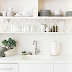 | Kitchen open shelving