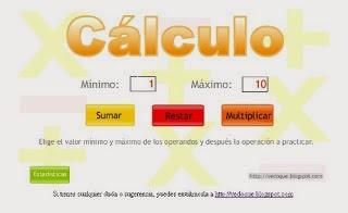 Practica el cálculo