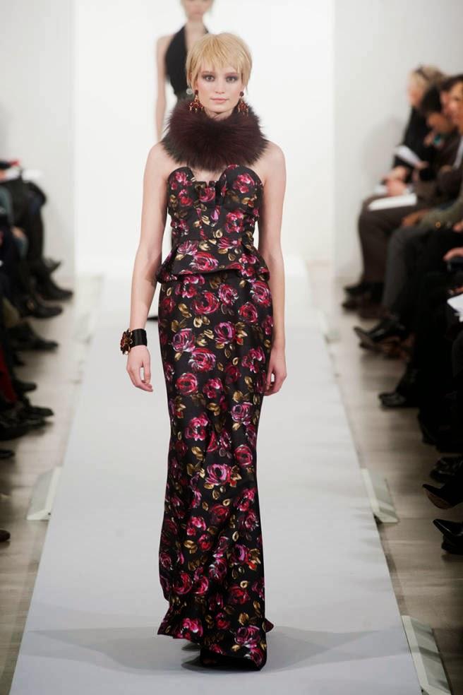 rochie Oscar de la Renta