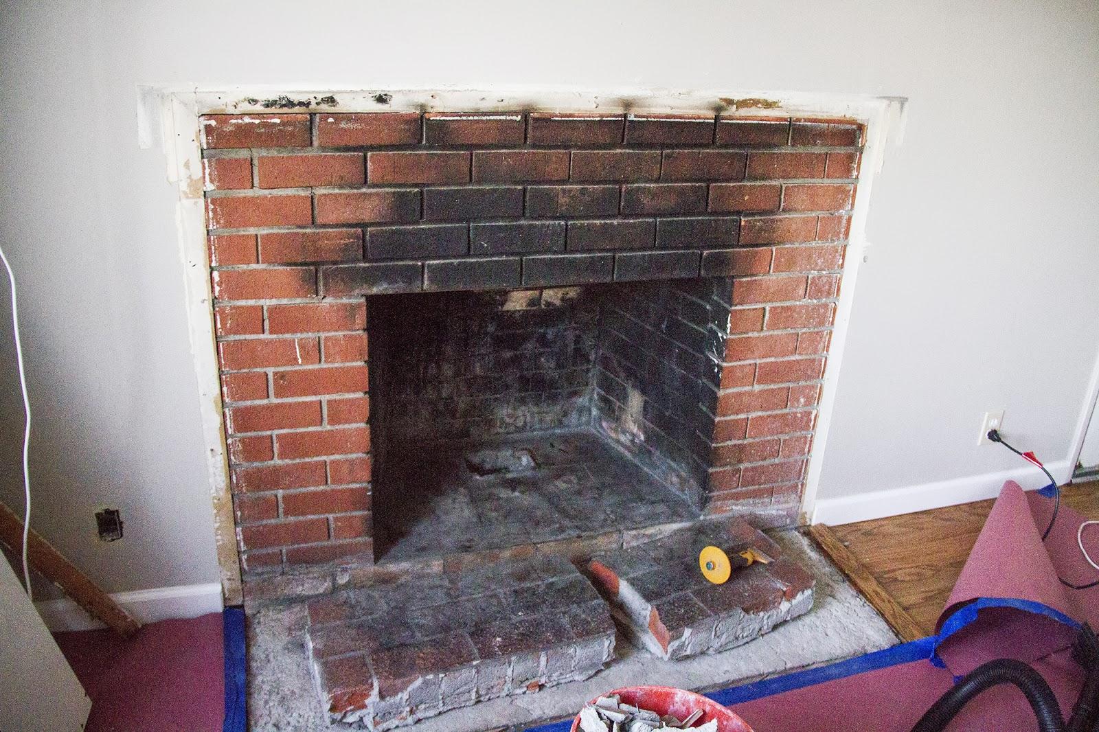 swingncocoa fireplace makeover part 1 a crispy facade