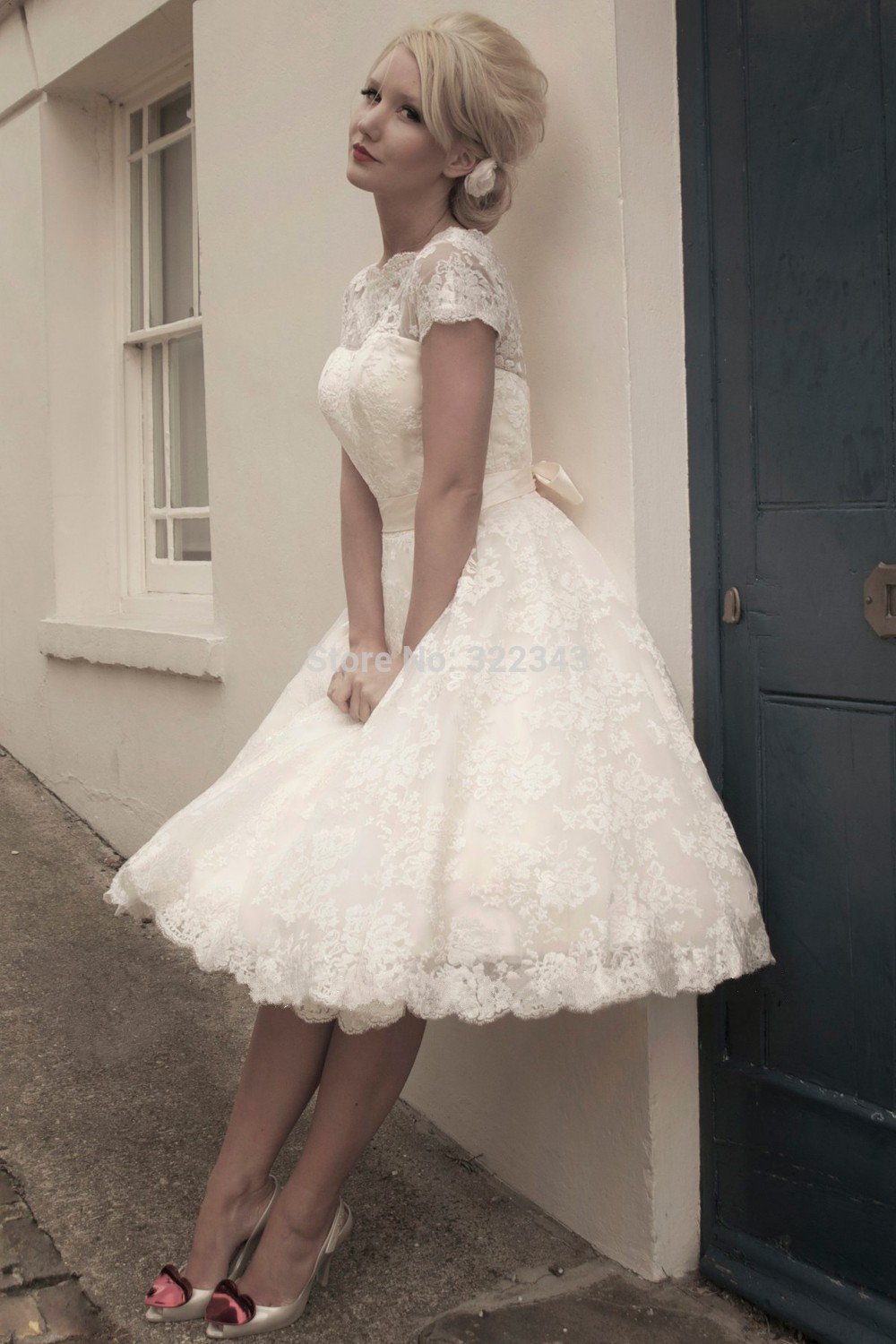 Boho Petite Short Wedding Dresses 2015