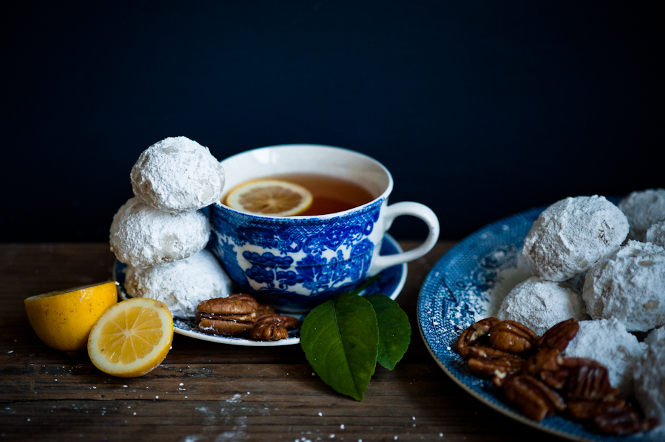 Meyer Lemon Snow Balls