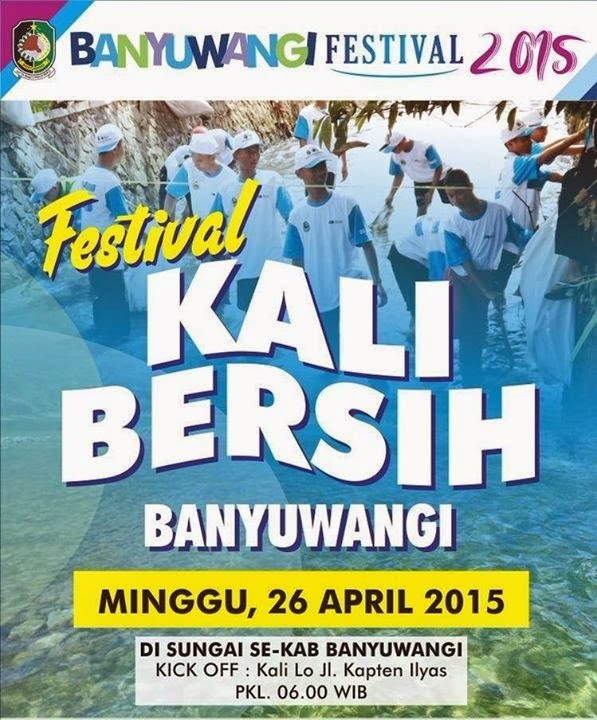 Festival kali bersih Banyuwangi 2015